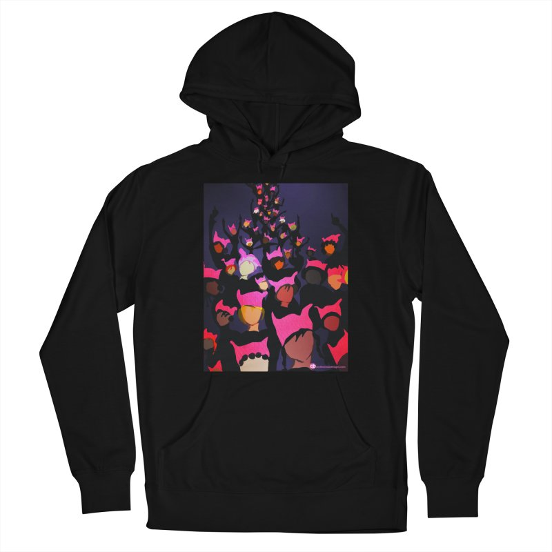 Women's March Design by Ceci Bowman Men's French Terry Pullover Hoody by Ceci Bowman's Product Site