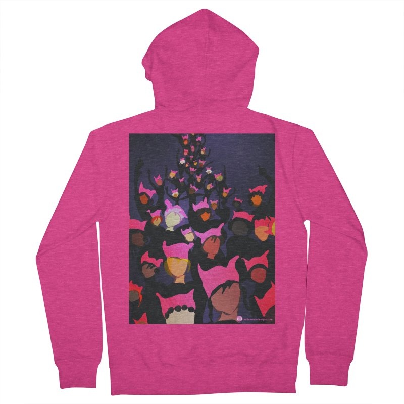 Women's March Design by Ceci Bowman Women's French Terry Zip-Up Hoody by Ceci Bowman's Product Site