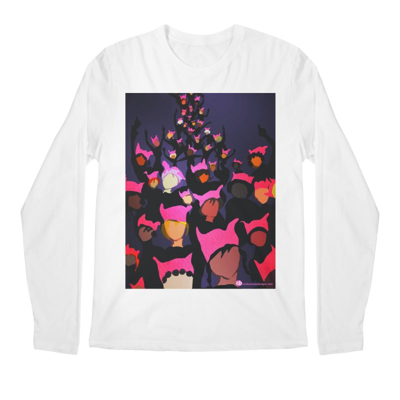 Women's March Design by Ceci Bowman Men's Regular Longsleeve T-Shirt by Ceci Bowman's Product Site