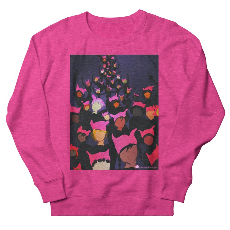 Women's March Design by Ceci Bowman Women's French Terry Sweatshirt by Ceci Bowman's Product Site