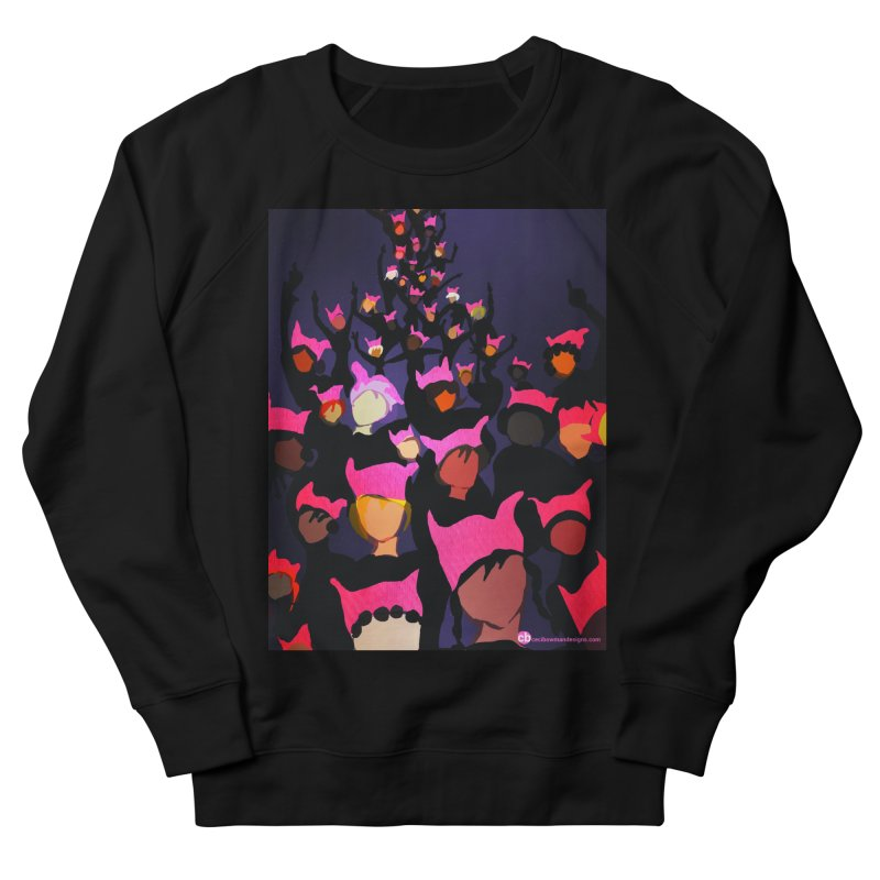 Women's March Design by Ceci Bowman Men's French Terry Sweatshirt by Ceci Bowman's Product Site