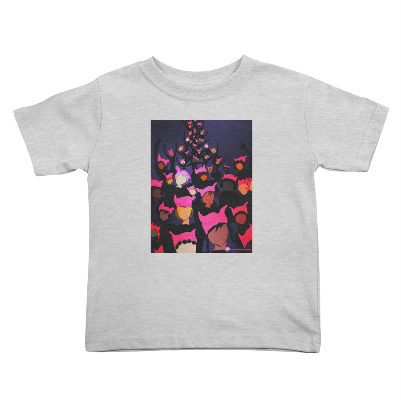 Women's March Design by Ceci Bowman Kids Toddler T-Shirt by Ceci Bowman's Product Site
