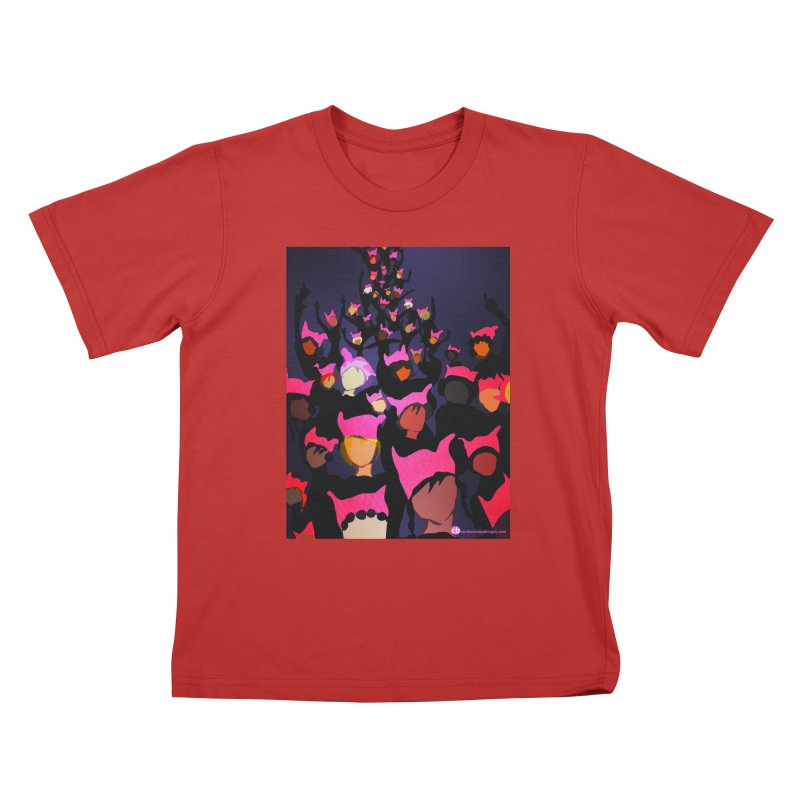 Women's March Design by Ceci Bowman Kids T-Shirt by Ceci Bowman's Product Site