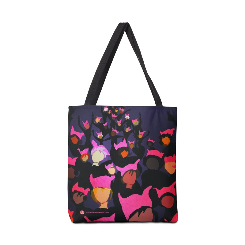 Women's March Design by Ceci Bowman in Tote Bag by Ceci Bowman's Product Site