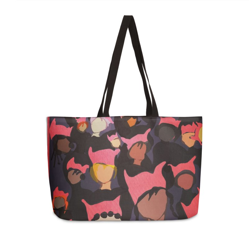 Women's March Design by Ceci Bowman Accessories Weekender Bag Bag by Ceci Bowman's Product Site