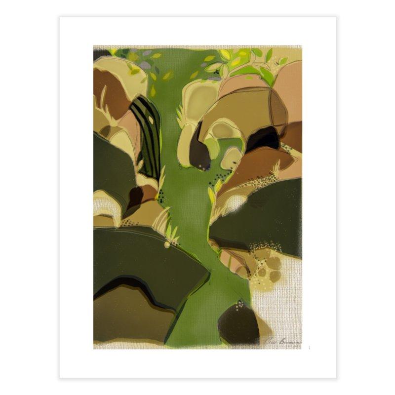 Small Falls-California River Series Home Fine Art Print by Ceci Bowman's Product Site