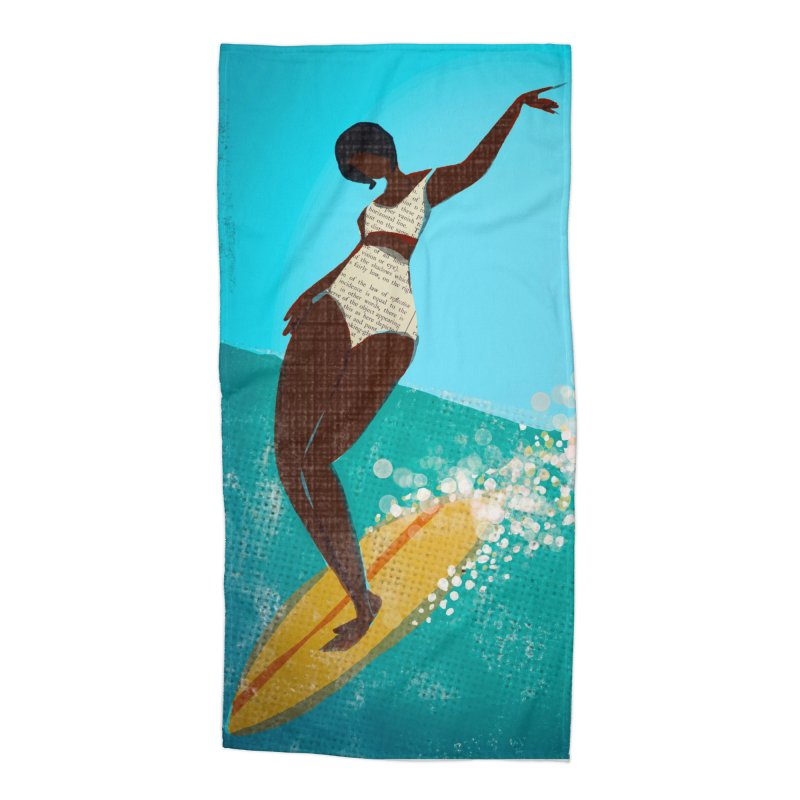Surfer Grl Accessories Beach Towel by Ceci Bowman's Product Site
