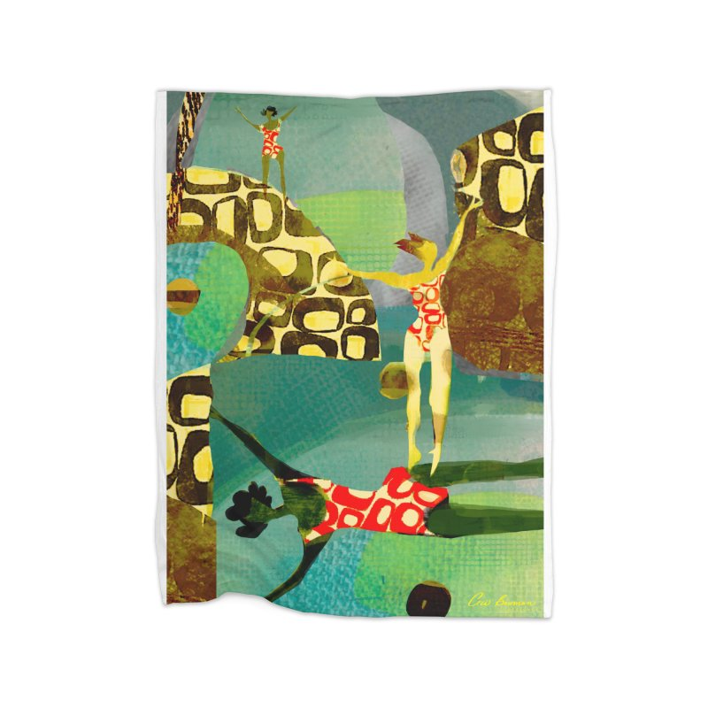 River Women- California River Series Home Blanket by Ceci Bowman's Product Site