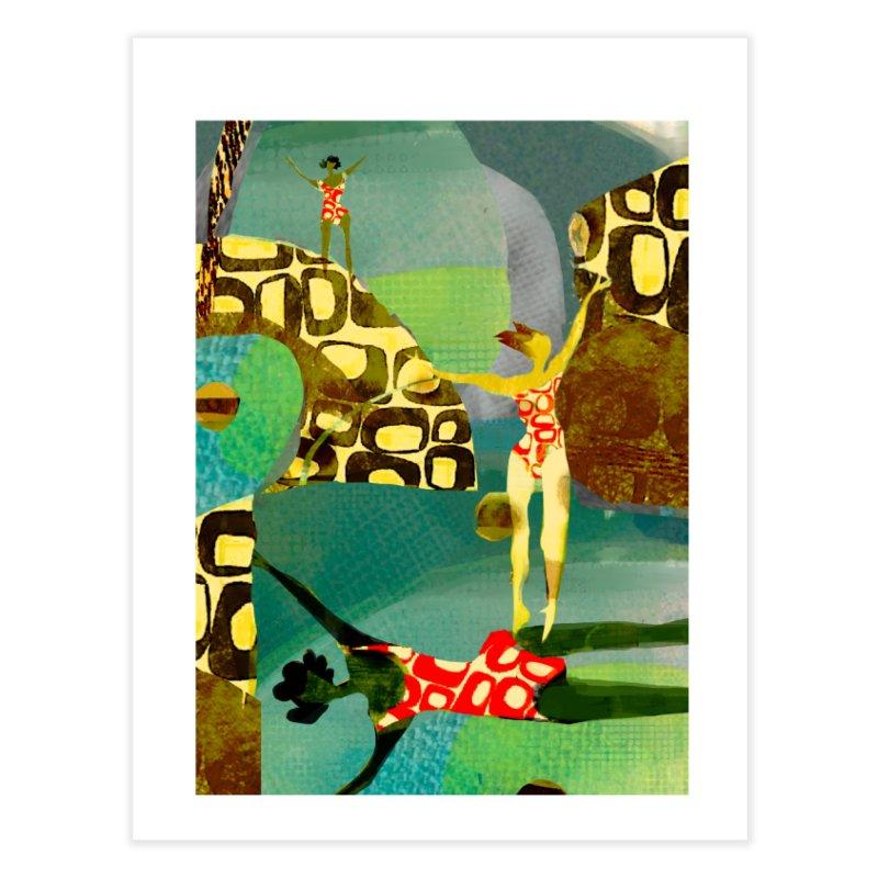 River Women- California River Series Home Fine Art Print by Ceci Bowman's Product Site