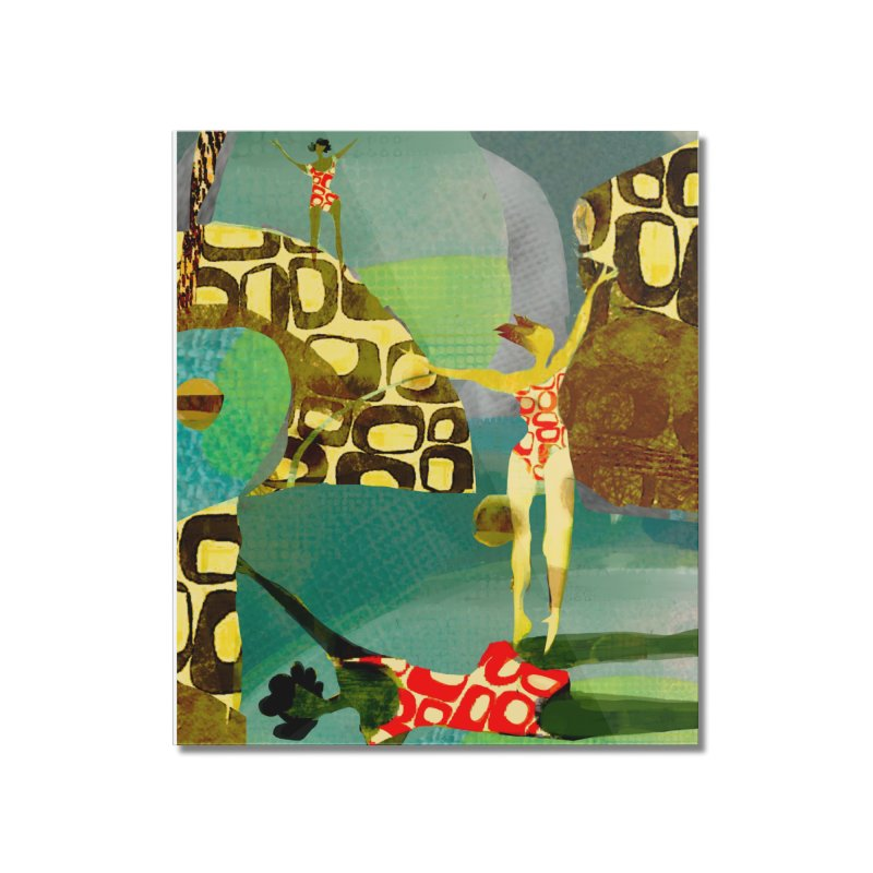 River Women- California River Series Home Mounted Acrylic Print by Ceci Bowman's Product Site