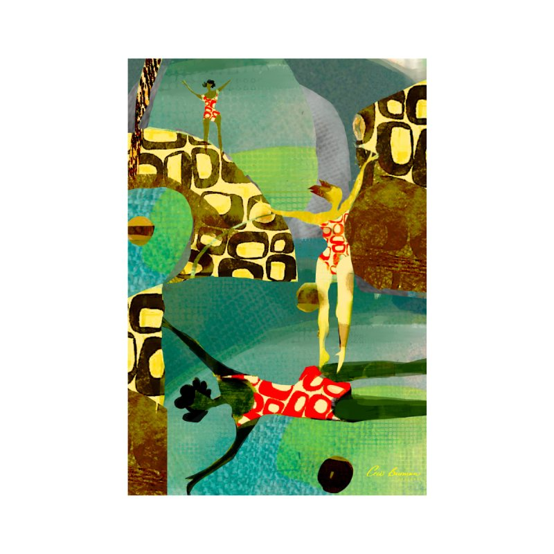 River Women- California River Series Home Shower Curtain by Ceci Bowman's Product Site