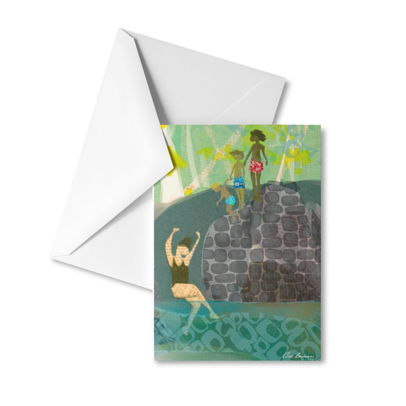 Just Jump-California River Series Accessories Greeting Card by Ceci Bowman's Product Site