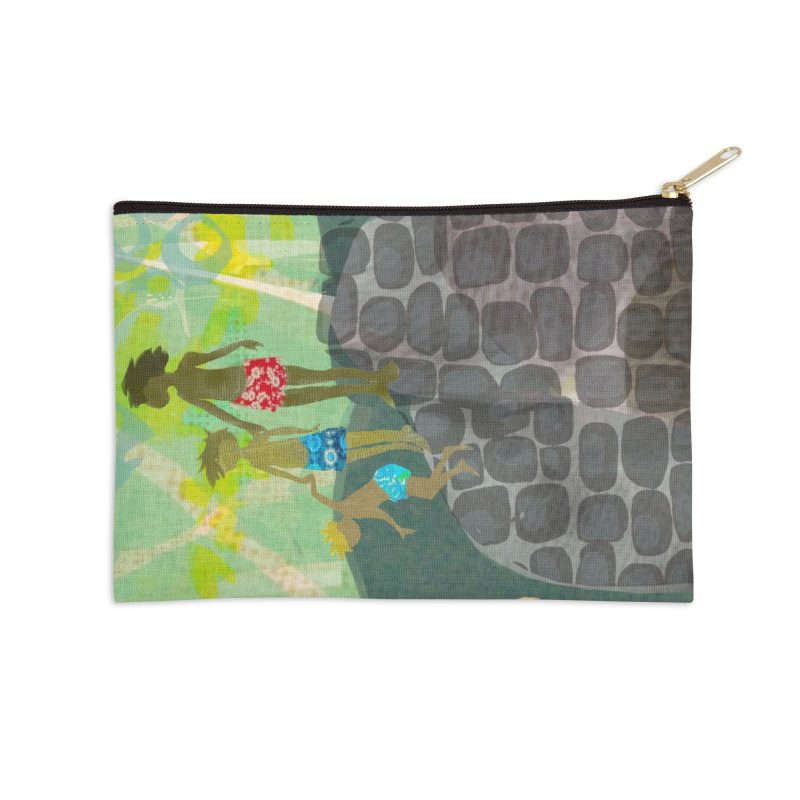 Just Jump-California River Series Accessories Zip Pouch by Ceci Bowman's Product Site