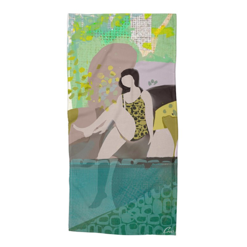 First Dip Accessories Beach Towel by Ceci Bowman's Product Site