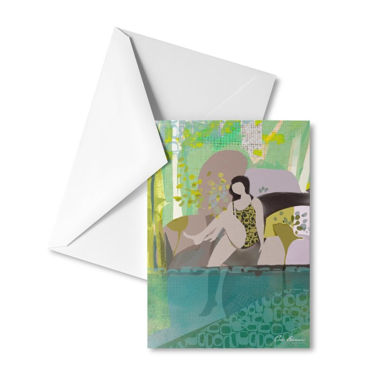 First Dip Accessories Greeting Card by Ceci Bowman's Product Site