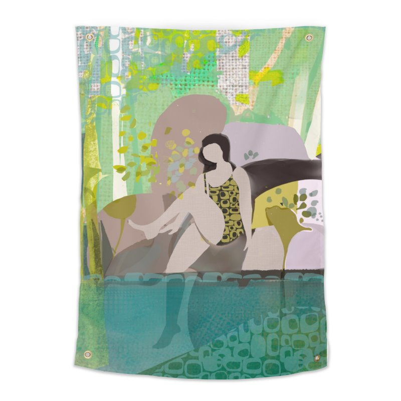 First Dip Home Tapestry by Ceci Bowman's Product Site