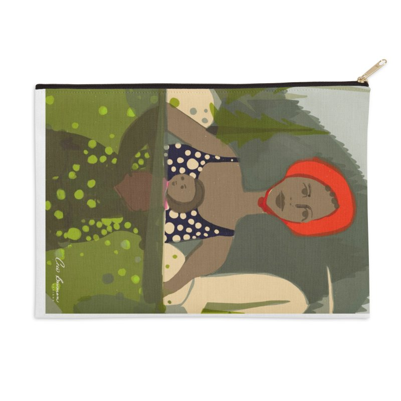 Mounain Swim Accessories Zip Pouch by Ceci Bowman's Product Site
