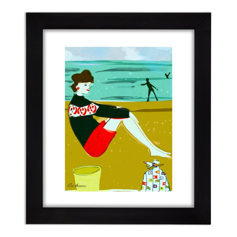 Jane's Mom Home Framed Fine Art Print by Ceci Bowman's Product Site