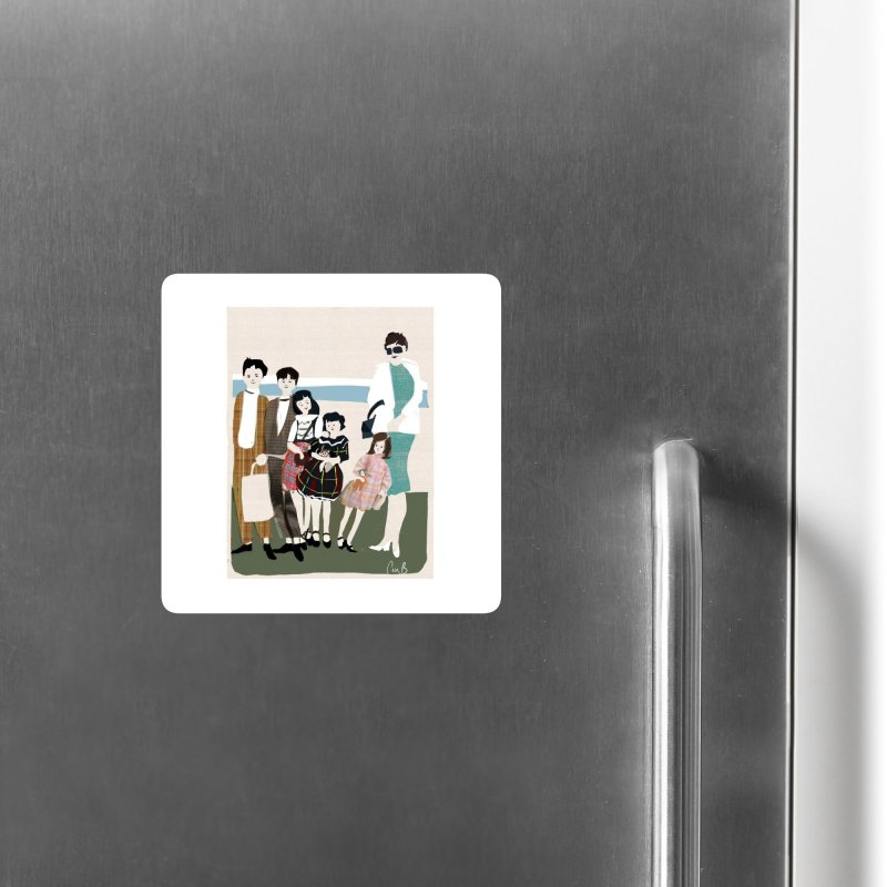 Ann Crane and Children Accessories Magnet by Ceci Bowman's Product Site