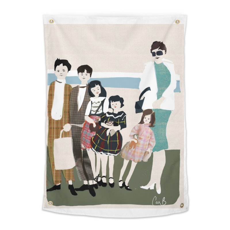 Ann Crane and Children Home Tapestry by Ceci Bowman's Product Site