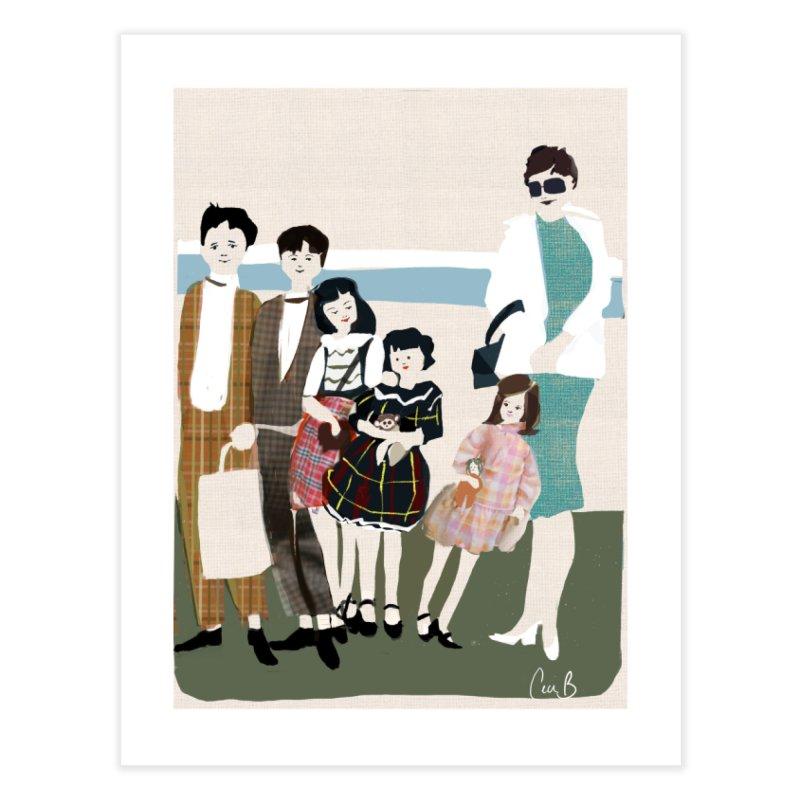 Ann Crane and Children Home Fine Art Print by Ceci Bowman's Product Site