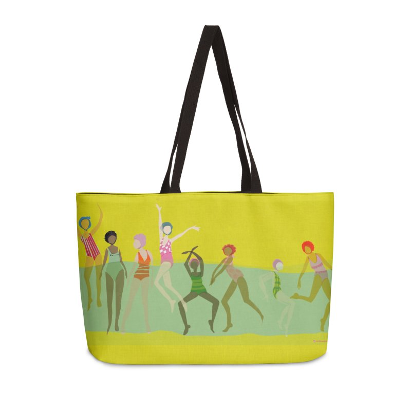 Swimmer Girls Weekender Bag in Weekender Bag by Ceci Bowman's Product Site