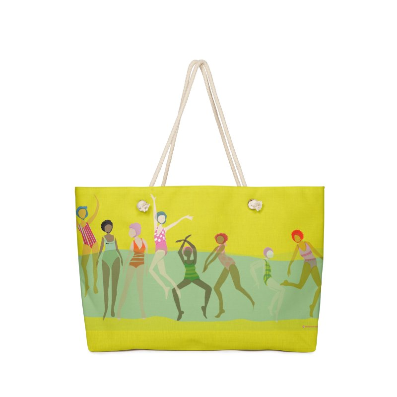 Swimmer Girls Weekender Bag Accessories Bag by Ceci Bowman's Product Site