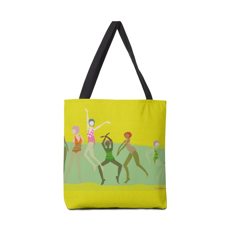 Swimmer Girls Zip Pouch Accessories Bag by Ceci Bowman's Product Site