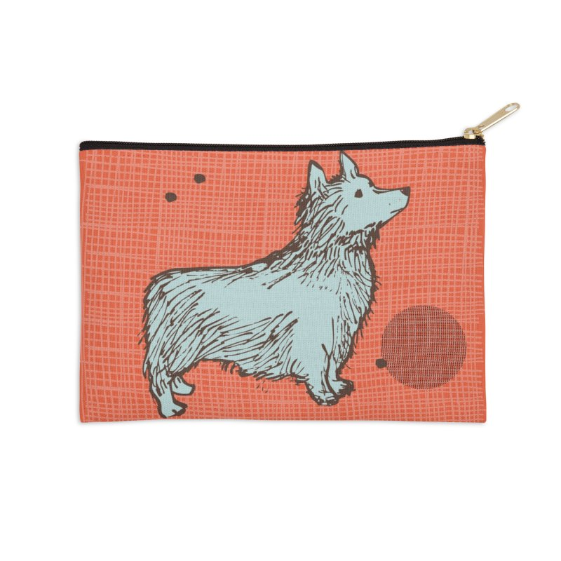 Blue Dog Accessories Zip Pouch by Ceci Bowman's Product Site