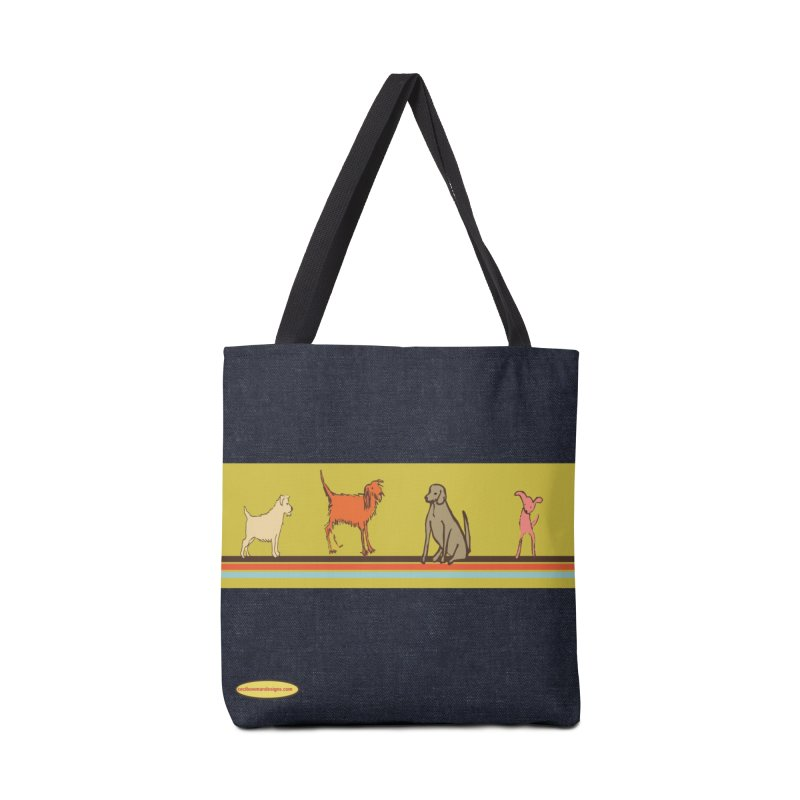 Dog Stripe Accessories Bag by Ceci Bowman's Product Site