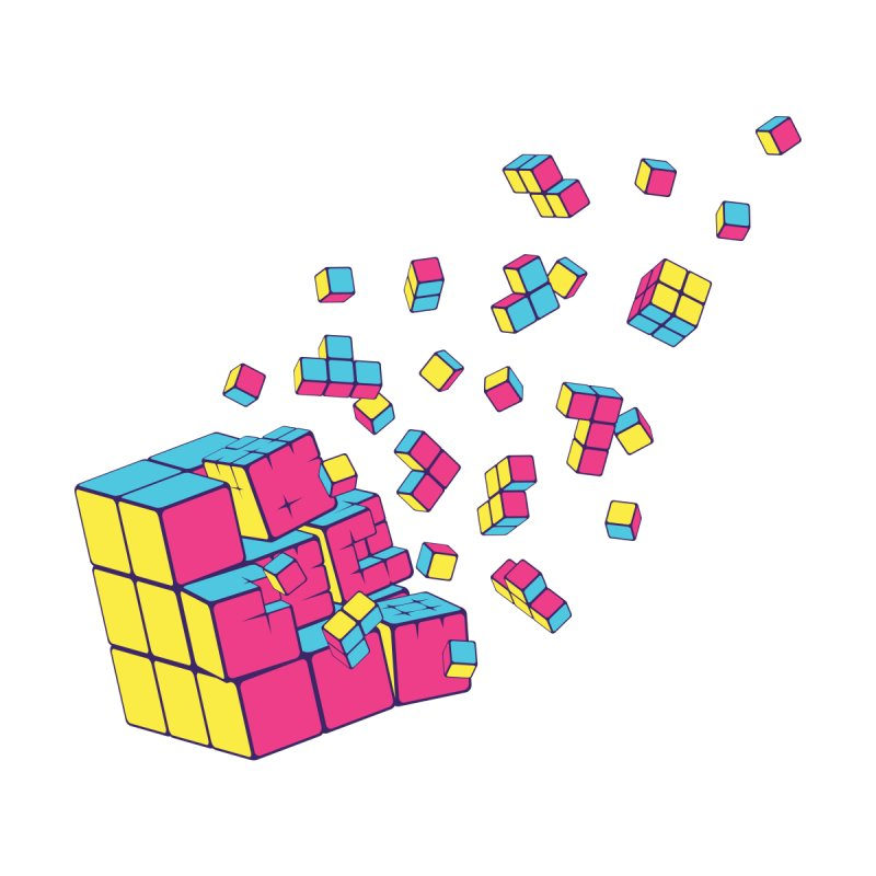Rubixplosion II by Cedric Lopez Fernandez