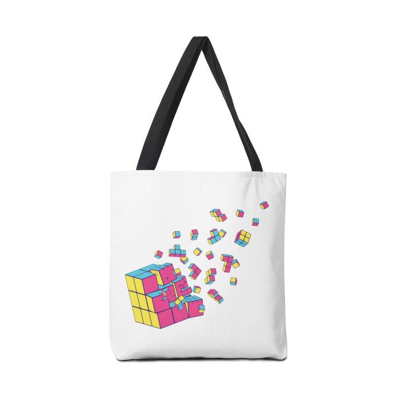Rubixplosion II Accessories Bag by Cedric Lopez Fernandez