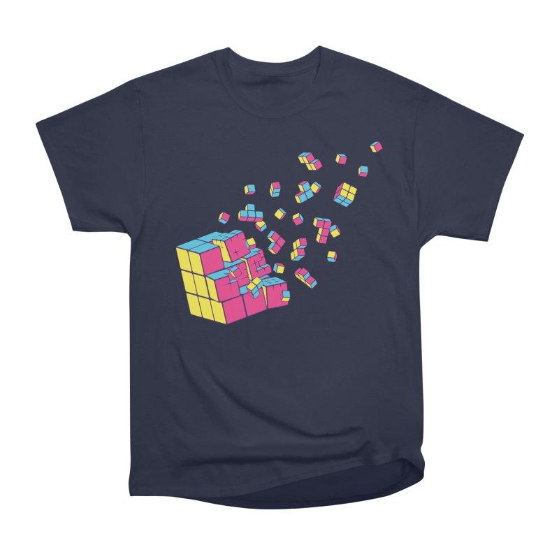 Rubixplosion II Women's Classic Unisex T-Shirt by Cedric Lopez Fernandez