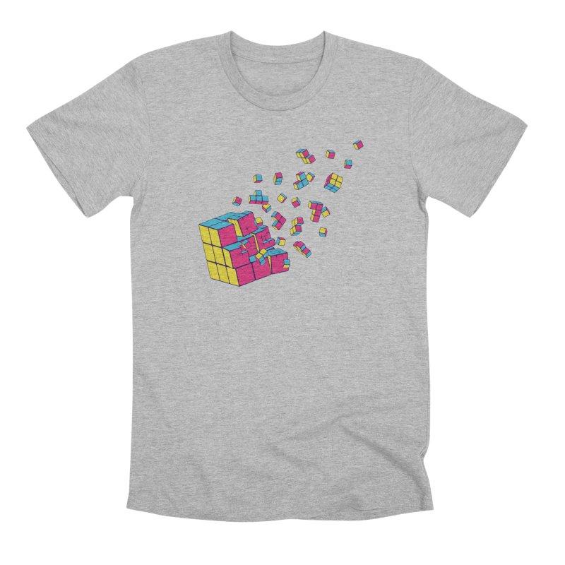 Rubixplosion II Men's Premium T-Shirt by Cedric Lopez Fernandez