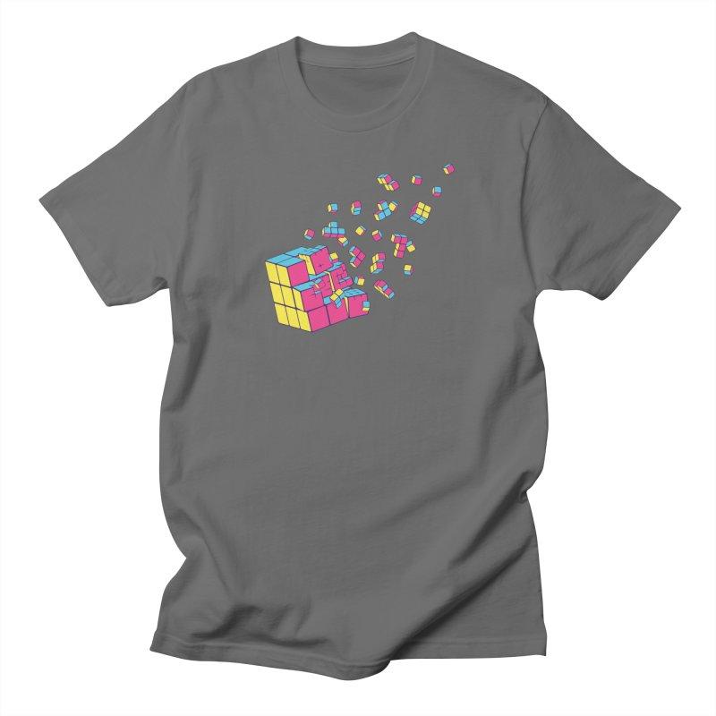 Rubixplosion II Men's T-Shirt by Cedric Lopez Fernandez