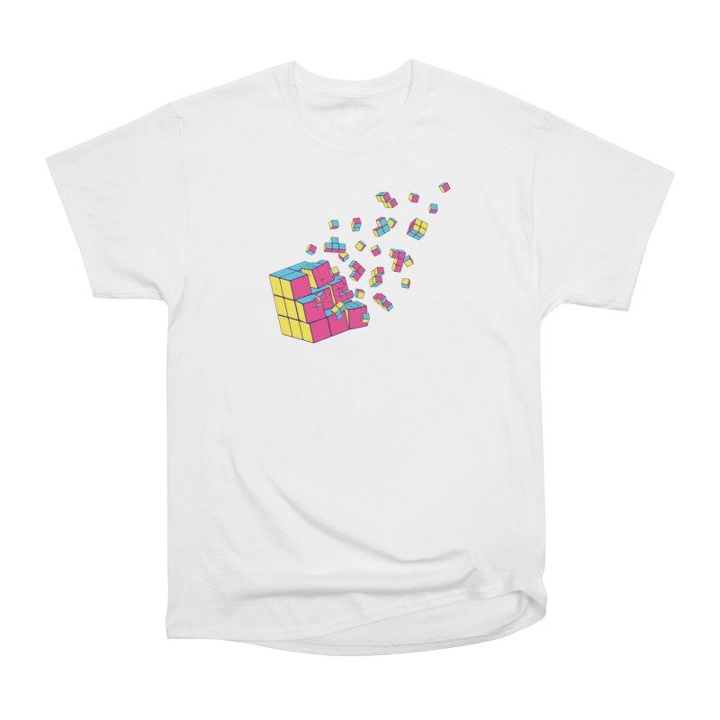 Rubixplosion II Men's Heavyweight T-Shirt by Cedric Lopez Fernandez