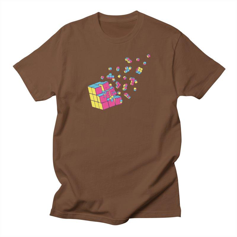 Rubixplosion II Men's Regular T-Shirt by Cedric Lopez Fernandez