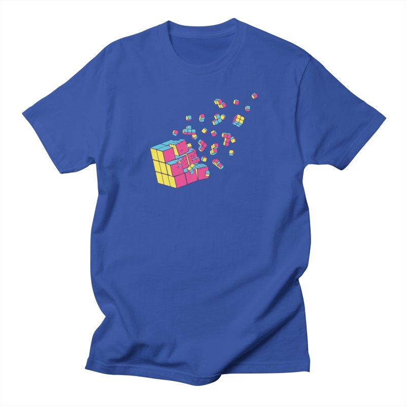 Rubixplosion II Women's Regular Unisex T-Shirt by Cedric Lopez Fernandez