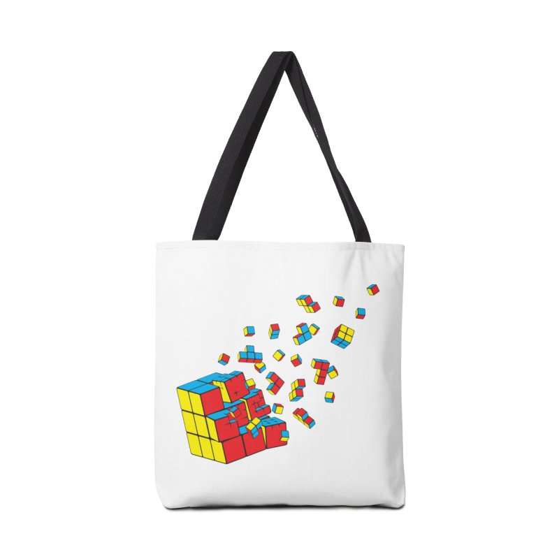 Rubixplosion I Accessories Bag by Cedric Lopez Fernandez