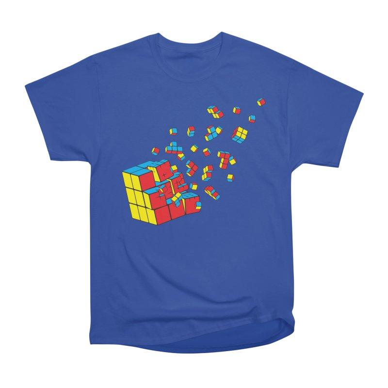 Rubixplosion I Women's Classic Unisex T-Shirt by Cedric Lopez Fernandez