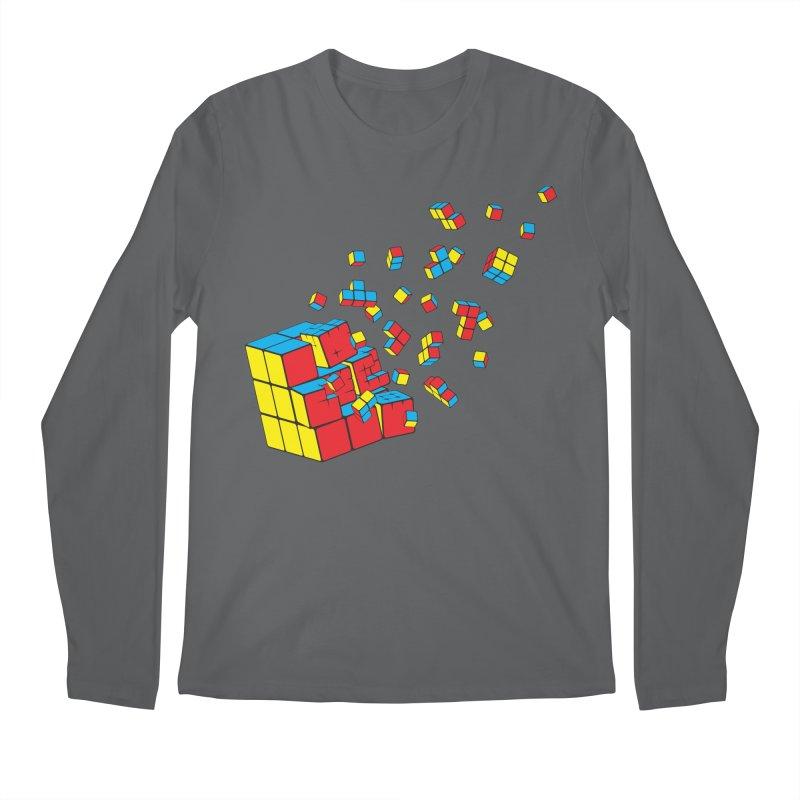Rubixplosion I Men's Longsleeve T-Shirt by Cedric Lopez Fernandez