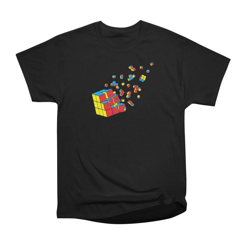 Rubixplosion I Women's Heavyweight Unisex T-Shirt by Cedric Lopez Fernandez