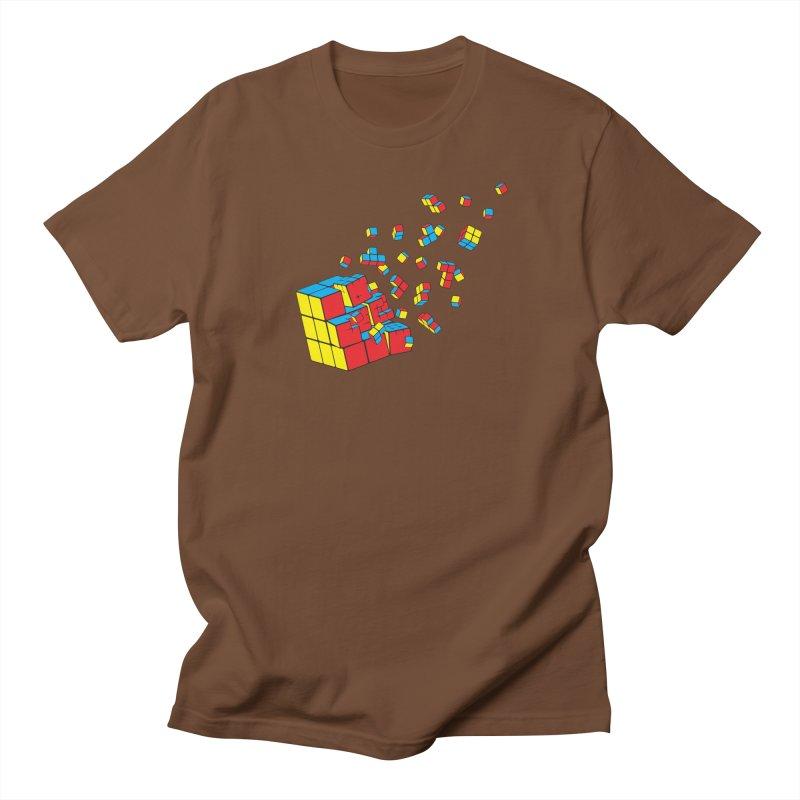 Rubixplosion I Women's Unisex T-Shirt by Cedric Lopez Fernandez