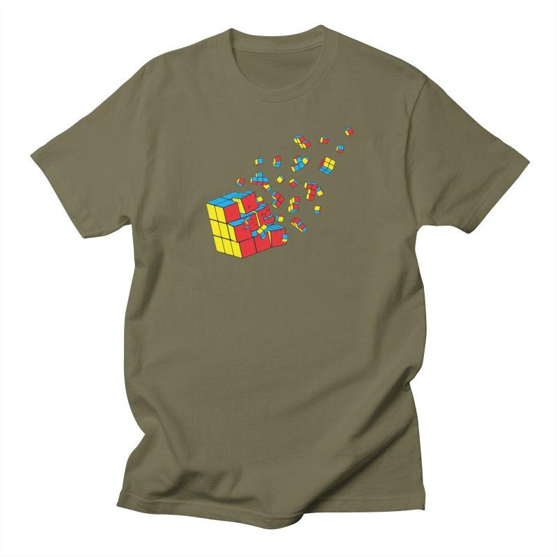 Rubixplosion I Women's Regular Unisex T-Shirt by Cedric Lopez Fernandez