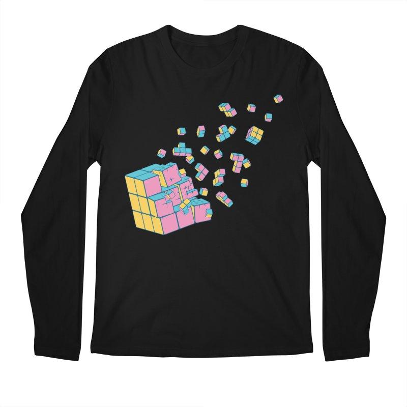 Rubixplosion III Men's Longsleeve T-Shirt by Cedric Lopez Fernandez
