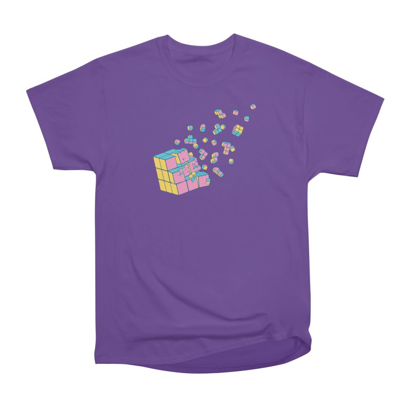 Rubixplosion III Women's Heavyweight Unisex T-Shirt by Cedric Lopez Fernandez