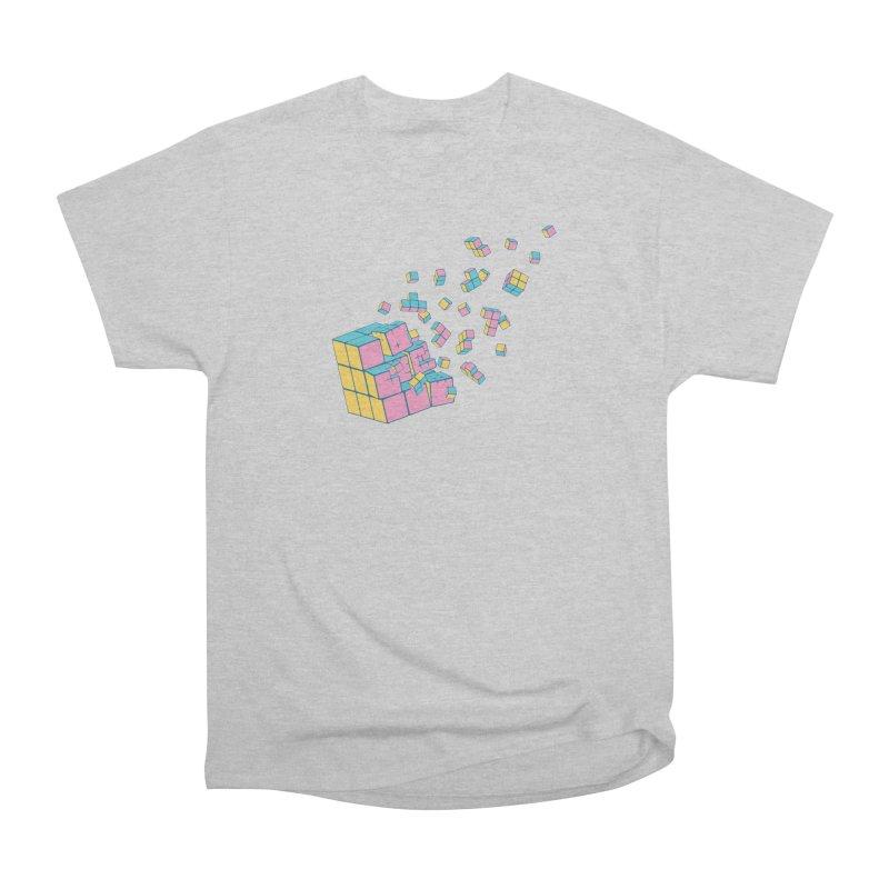 Rubixplosion III Men's Heavyweight T-Shirt by Cedric Lopez Fernandez