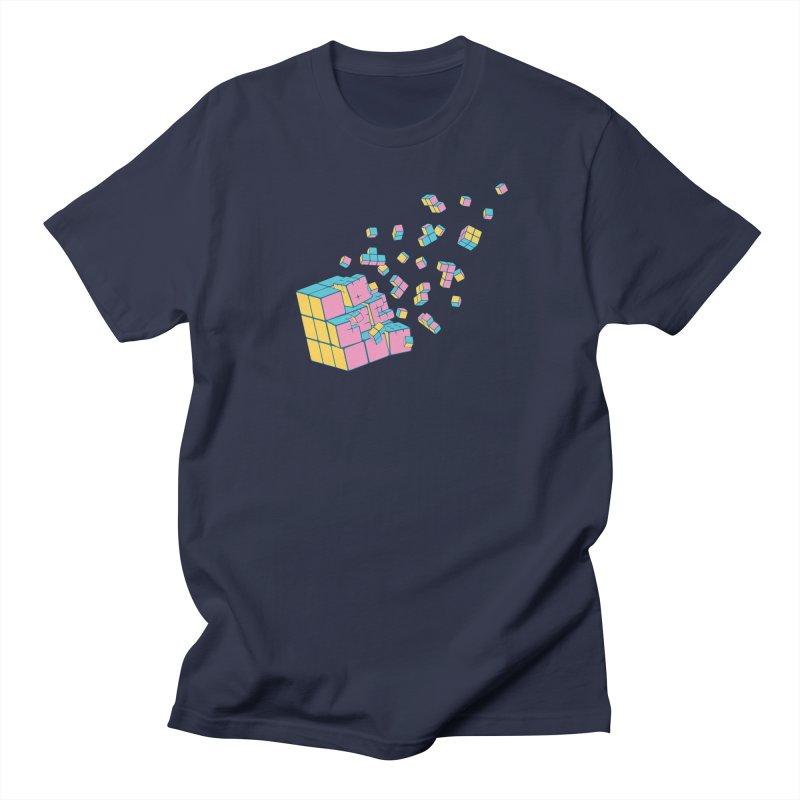 Rubixplosion III Men's T-Shirt by Cedric Lopez Fernandez