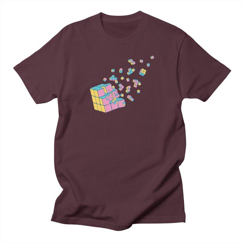 Rubixplosion III Women's Regular Unisex T-Shirt by Cedric Lopez Fernandez