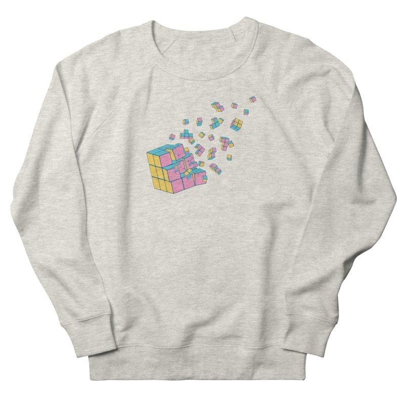 Rubixplosion III Women's Sweatshirt by Cedric Lopez Fernandez